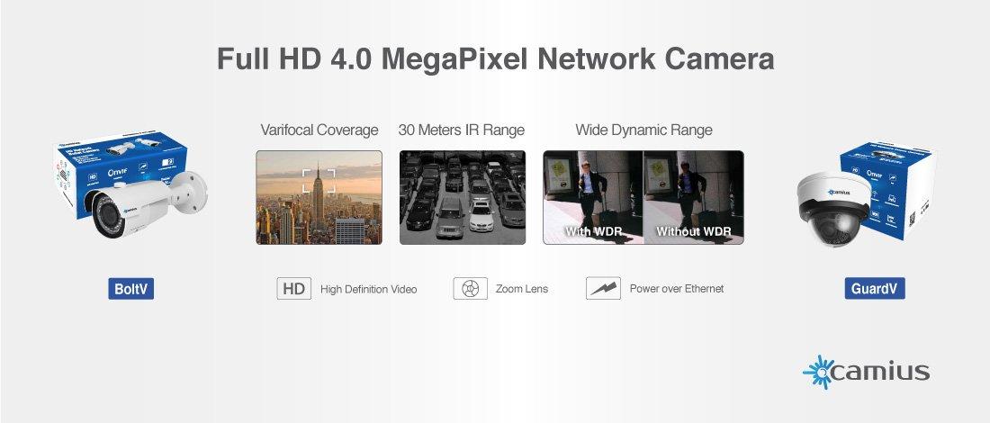 Camius Professional IP Cameras